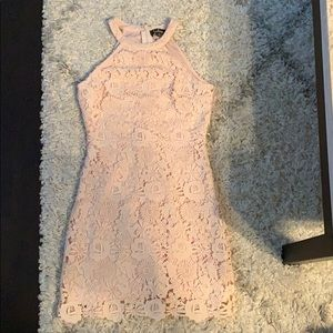 Light pink Lulu's cocktail dress